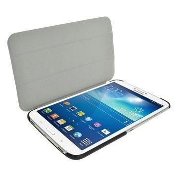 Samsung Galaxy Tab 3 8.0 iGadgitz Mate Plus Nahkainen Suojakotelo Pinkki