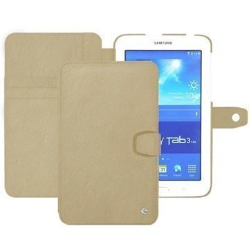 Samsung Galaxy Tab 3 Lite 7.0 Noreve Tradition B Leather Case Beige