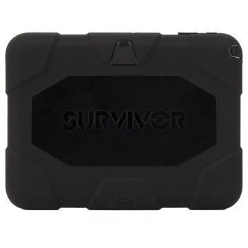 Samsung Galaxy Tab 4 10.1 Griffin Survivor Suojakotelo Musta
