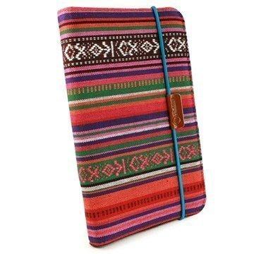 Samsung Galaxy Tab 4 7.0 Tuff-luv Slim-Stand Case Navajo Aztec