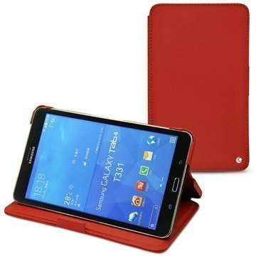 Samsung Galaxy Tab 4 8.0 Noreve Tradition Leather Case Red