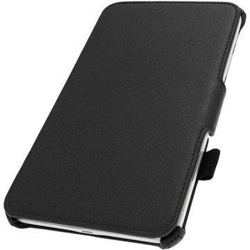 Samsung Galaxy Tab 4 8.0 iGadgitz Executive Nahkakotelo Musta