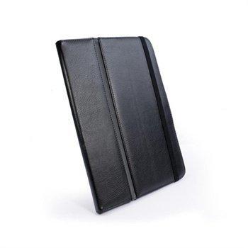 Samsung Galaxy Tab 7.7 P6800 Tuff-Luv Type-View Nahkakotelo Musta