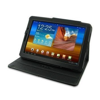 Samsung Galaxy Tab 7.7 PDair Leather Case 3BSS77BX1 Musta