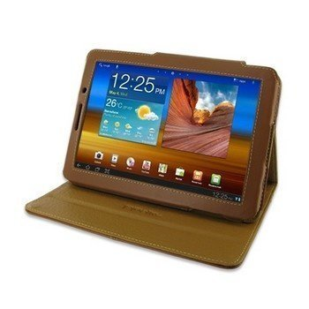 Samsung Galaxy Tab 7.7 PDair Leather Case Brown