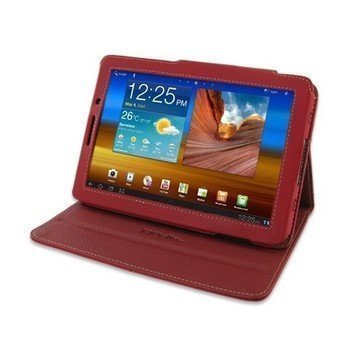 Samsung Galaxy Tab 7.7 PDair Leather Case Red