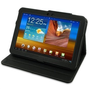 Samsung Galaxy Tab 8.9 PDair Leather Case 3BSS89BX2 Musta