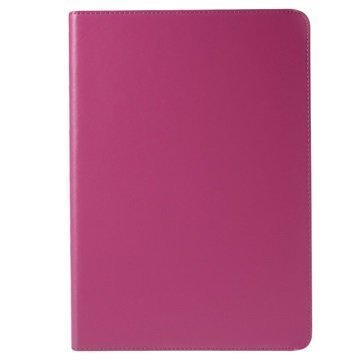 Samsung Galaxy Tab A 9.7 Doormoon Smart Folio Nahkakotelo Kuuma Pinkki