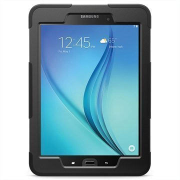 Samsung Galaxy Tab A 9.7 Griffin Survivor Slim Suojakuori Musta