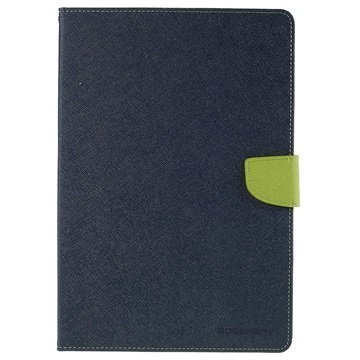 Samsung Galaxy Tab A 9.7 Mercury Goospery Fancy Diary Folio Kotelo Vihreä / Tummansininen