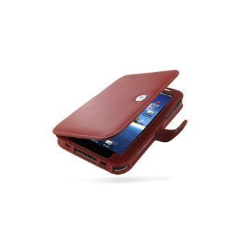 Samsung Galaxy Tab GT P1000 PDair Leather Case 3RSSPDBX1 Punainen