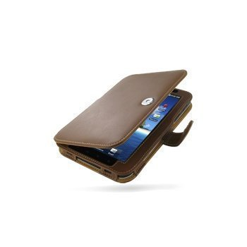 Samsung Galaxy Tab GT P1000 PDair Leather Case 3TSSPDBX1 Ruskea