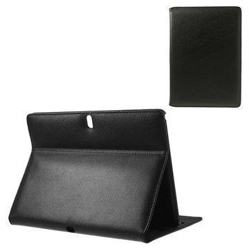 Samsung Galaxy Tab Pro 10.1 Doormoon Läpällinen Nahkakotelo Musta