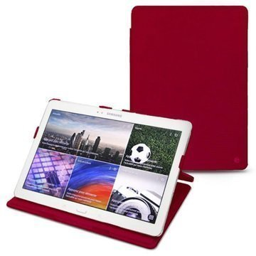 Samsung Galaxy Tab Pro 10.1 Noreve Tradition Leather Case Red
