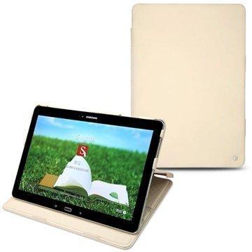 Samsung Galaxy Tab Pro 12.2 Noreve Tradition Nahkakotelo Beige