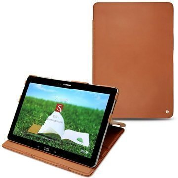 Samsung Galaxy Tab Pro 12.2 Noreve Tradition Nahkakotelo Ruskea