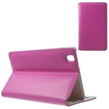 Samsung Galaxy Tab Pro 8.4 Doormoon Läpällinen Nahkakotelo Kuuma Pinkki