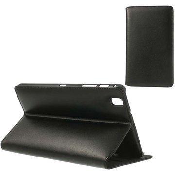 Samsung Galaxy Tab Pro 8.4 Doormoon Läpällinen Nahkakotelo Musta
