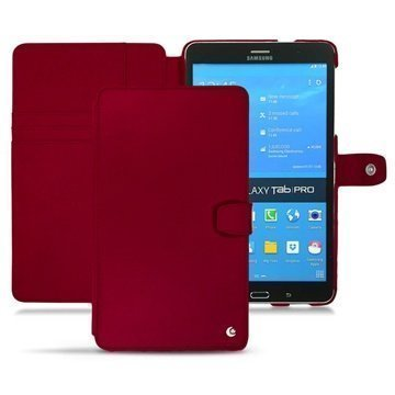 Samsung Galaxy Tab Pro 8.4 Noreve Tradition B Nahkakotelo Punainen