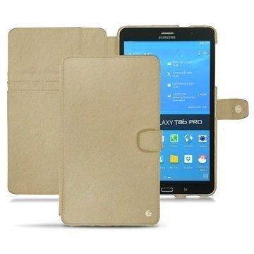Samsung Galaxy Tab Pro 8.4 Noreve Tradition Nahkakotelo Beige