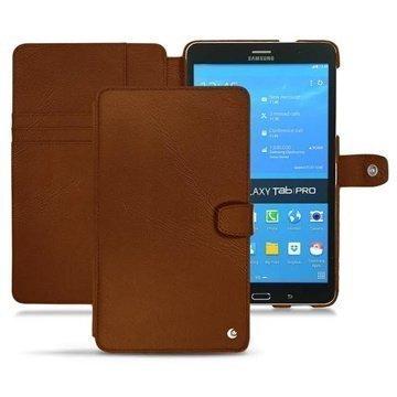 Samsung Galaxy Tab Pro 8.4 Noreve Tradition Nahkakotelo Ruskea