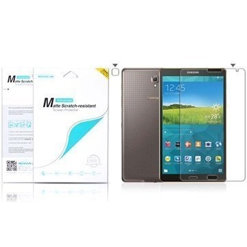 Samsung Galaxy Tab S 8.4 Nillkin Anti-Fingerprint Näytönsuoja Häikäisemätön