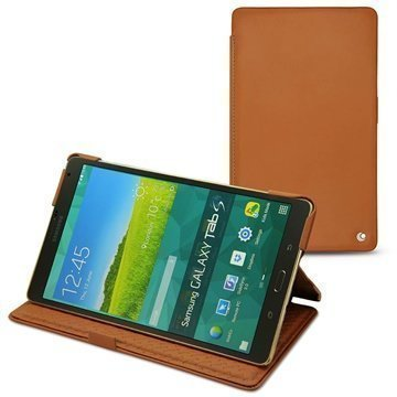 Samsung Galaxy Tab S 8.4 Noreve Tradition Leather Case Ruskea
