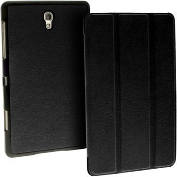 Samsung Galaxy Tab S 8.4 iGadgitz Premium Nahkakotelo Musta