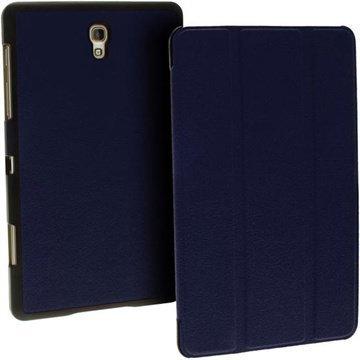 Samsung Galaxy Tab S 8.4 iGadgitz Premium Nahkakotelo Tummansininen