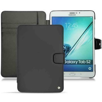 Samsung Galaxy Tab S2 8.0 T710 Noreve Tradition B Nahkakotelo Perpétuelle Musta