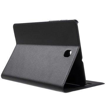 Samsung Galaxy Tab S2 8.0 T710 T715 Doormoon Folio Nahkakotelo Musta