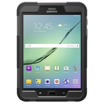 Samsung Galaxy Tab S2 8.0 T710 T715 Griffin Survivor Slim Suojakuori Musta