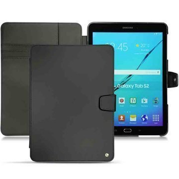 Samsung Galaxy Tab S2 9.7 T810 Noreve Tradition B Nahkakotelo Perpétuelle Musta