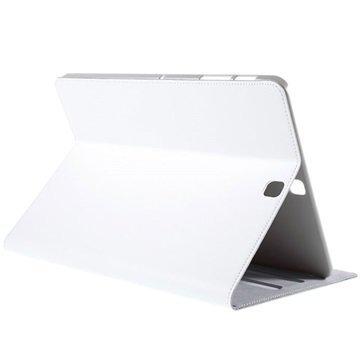 Samsung Galaxy Tab S2 9.7 T810 T815 Doormoon Folio Nahkakotelo Valkoinen