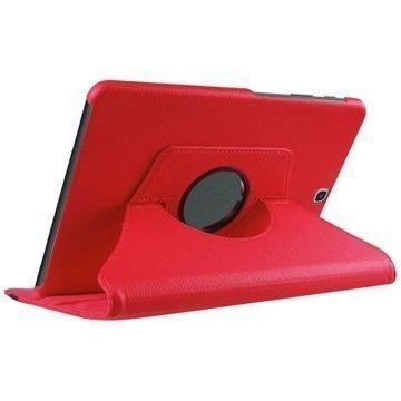 Samsung Galaxy Tab S2 9.7 T810 T815 Tuff-luv Pyörivä Kotelo Punainen