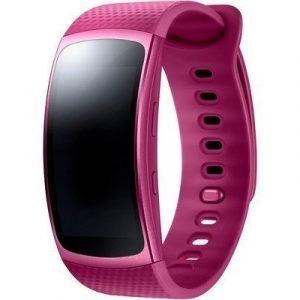 Samsung Gear Fit2 Small Vaaleanpunainen