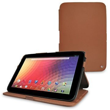 Samsung Google Nexus 10 Noreve Tradition Leather Case Brown