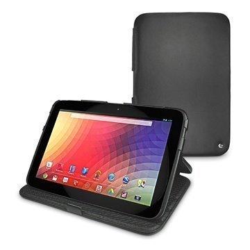 Samsung Google Nexus 10 Noreve Tradition Nahkakotelo Musta