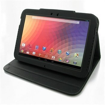 Samsung Google Nexus 10 PDair Leather Case 3BSSGEBX2 Musta