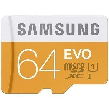 Samsung MB-MP64DA/EU EVO MicroSDXC UHS-1 Muistikortti 64Gt