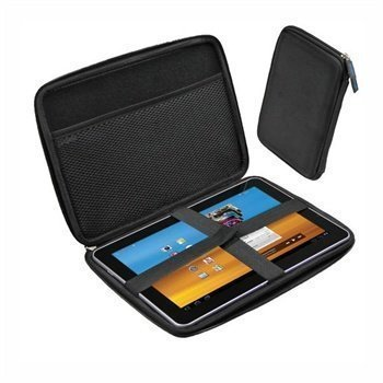 Samsung P7500 Galaxy Tab 10.1 3G iGadgitz EVA Kovakotelo Musta