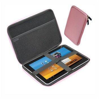 Samsung P7500 Galaxy Tab 10.1 3G iGadgitz EVA Kovakotelo Vaaleanpunainen