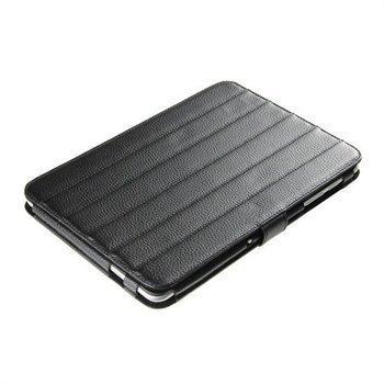 Samsung P7500 P7510 Galaxy Tab iGadgitz ArmourDillo Nahkakotelo Musta