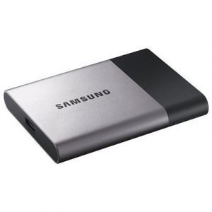 Samsung Portable Ssd T3 0.25tb Hopea Musta