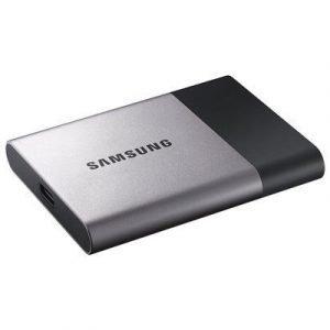 Samsung Portable Ssd T3 0.5tb Musta Hopea