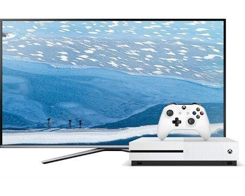 Samsung Ue55ku6405 55 Led 4k + Xbox One S 500gb Fifa 17 Bundle