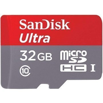SanDisk Ultra MicroSDHC Muistikortti 32Gt