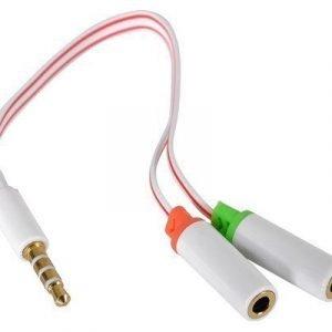 Sandberg Headset Converter Valkoinen