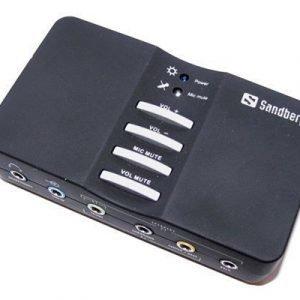 Sandberg Usb Sound Box äänikortti