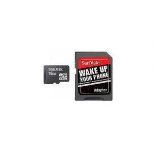 Sandisk Flash-muistikortti Microsdhc 16gb